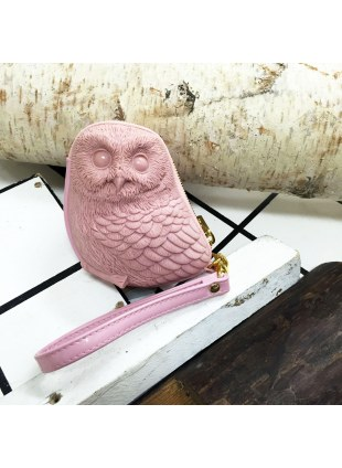 3D Bag (Light Indian Red Owl)