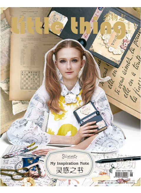 """Little Thing Magazine(リトルシング) No.41  """"My Inspiration Note"""""""