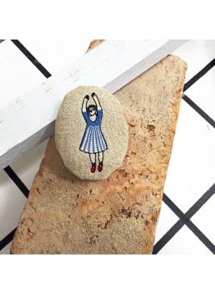Ballerina brooch