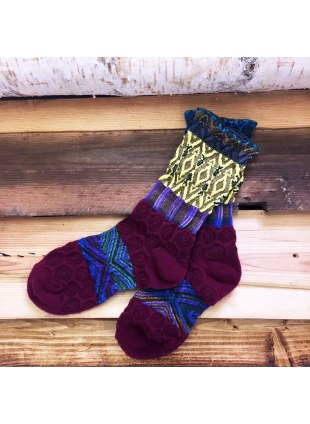 「nonnette」Original Socks (wine)