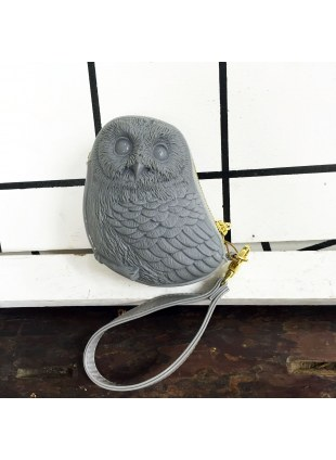 3D Bag (Gray Owl)