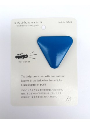 BIGMOUNTAIN Reflector Badge -▽-