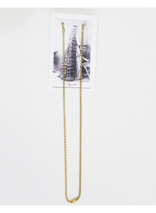 Long chain pierce -Gold / M-