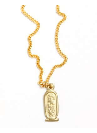 Egypt Necklace -cartouche-