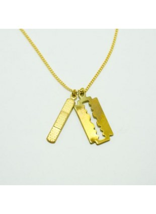 First Aid Necklace(Razor×Bandaid)