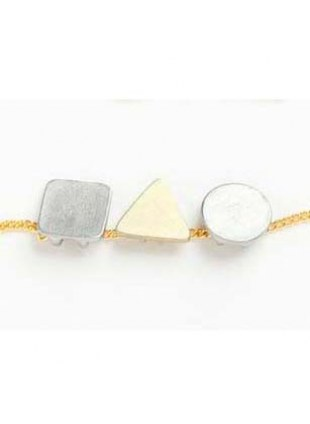 Shapes Necklace(GOLD)