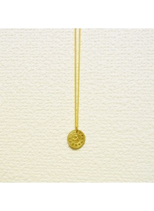 Manhole Necklace (GOLD)