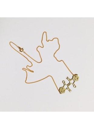 化学屋 indigo Necklace (GOLD)