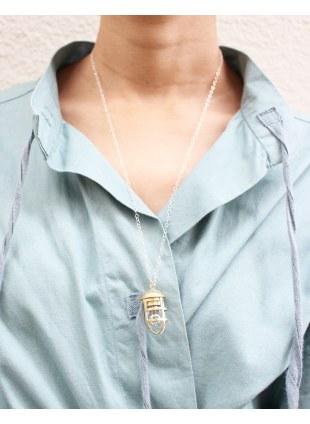 【 LIMIfeu x Aquvii 】lantern motif necklace