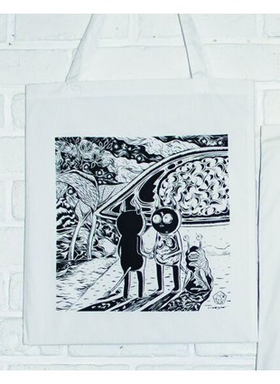 【Msize】AAT POSTER TOTE_宇宙時代