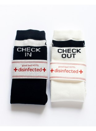 IN-OUT SOX /Black