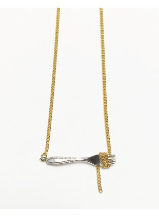 Pasta Necklace(SILVER)