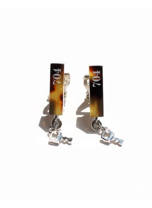 Hotel Key Series-Sur×Aquvii-【hotel key earring】
