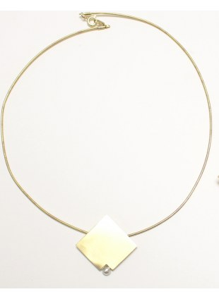 plate ball necklace