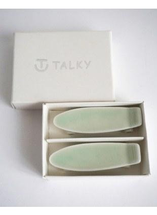 TALKY -skateboard chopstick rest- GREEN