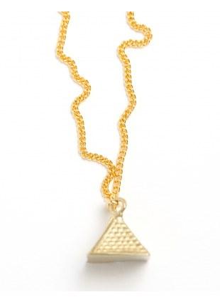 Egypt Necklace -pyramid-