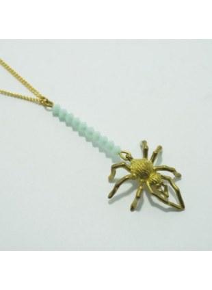Spider Web Necklace (Sax)